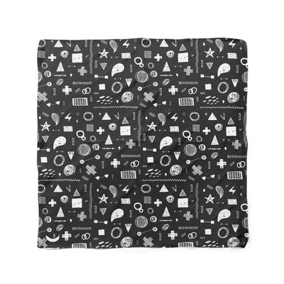 Banana Bandanas Play Time dog bandana hand drawn shape illustrations dog bandana chalkboard flat photo
