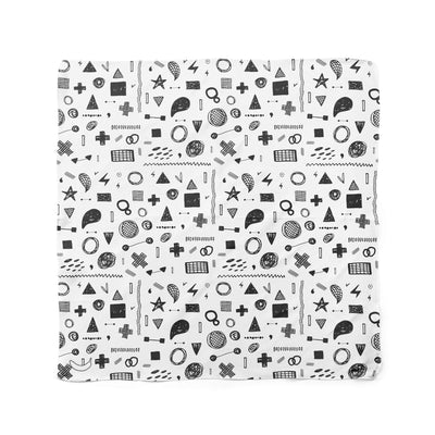 Banana Bandanas Play Time dog bandana hand drawn shape illustrations dog bandana whiteboard flat photo