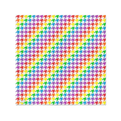 Banana Bandanas Rainbow Houndstooth bandana pride pattern flat photo