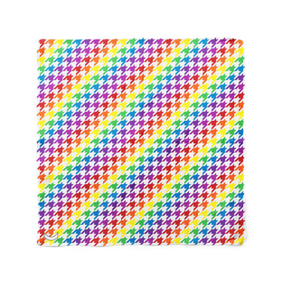 Banana Bandanas Rainbow Houndstooth dog bandana pride pattern flat photo