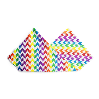 Banana Bandanas Rainbow Houndstooth overripe dog bandana pride pattern alternative photo