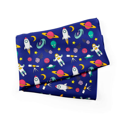 Banana Bandanas Space Explorer bandana space illustration blue alternative photo