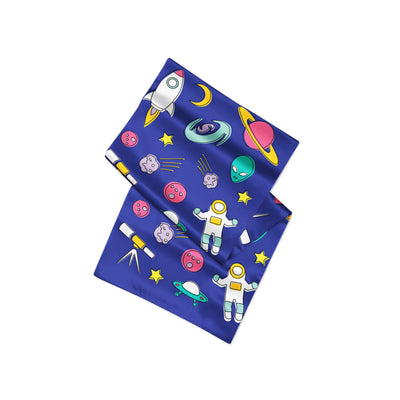 Banana Bandanas Space Explorer overripe dog bandana space illustration alternative photo