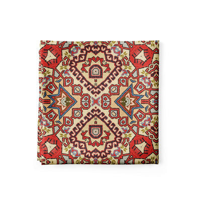 Banana Bandanas Totally Tapestry bandana geometric rug cardog red spread alternative photo