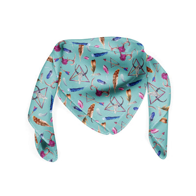 Banana Bandanas Toil and Trouble bandana witchcraft design bandana folded photo