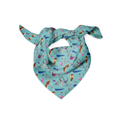 Banana Bandanas Toil and Trouble dog bandana witchcraft design dog bandana folded photo