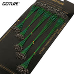 Goture Fishing Trace Lures Braid Nylon Wire Leader set of 100EA