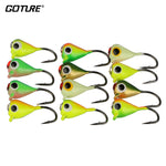 Goture Ice Fishing Jig set of 12