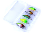 Fishing Minnow Lures set of 5