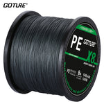 Goture Braided Fishing Line 500m 8 Strands Super Strong