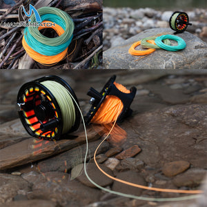 Maximumcatch Floating Fly Fishing Line Multi Color