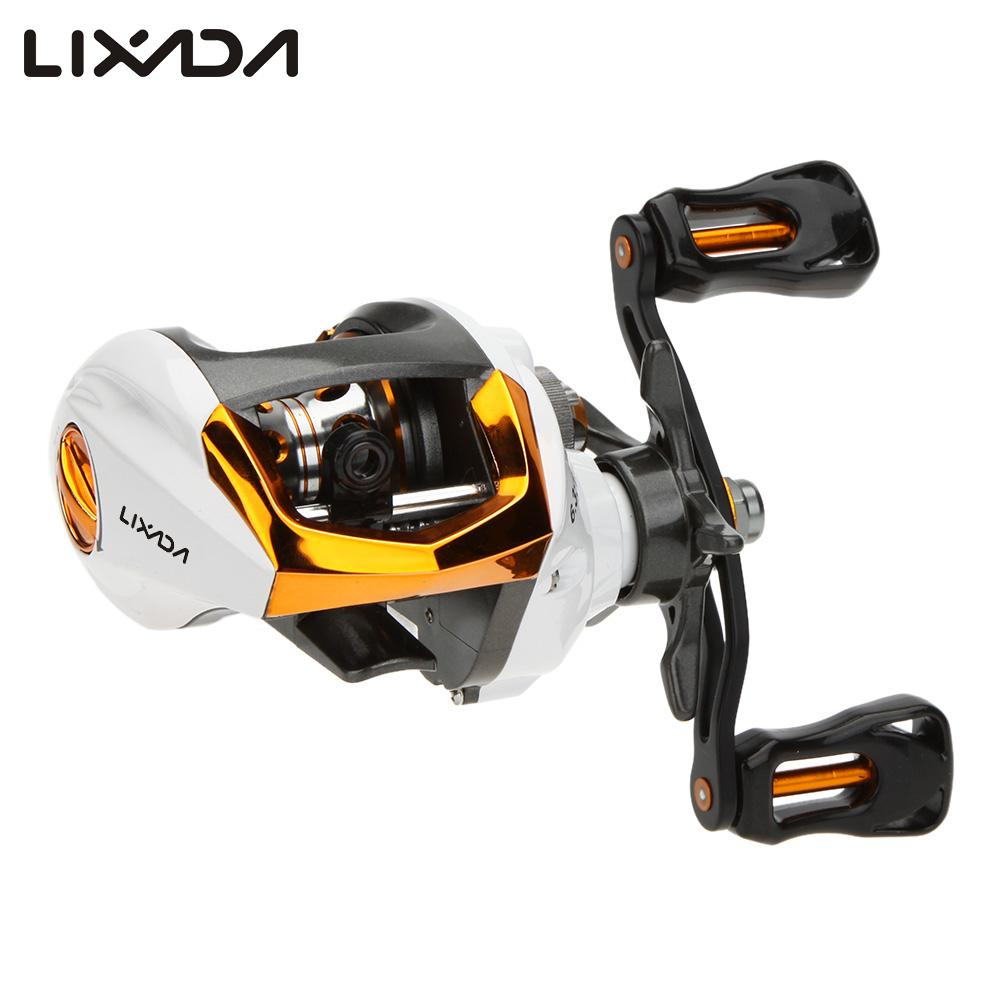 Lixada High Speed Baitcasting Fishing Reels