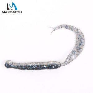 Maximumcatch Single Tails Grubs Lures - Set of 15