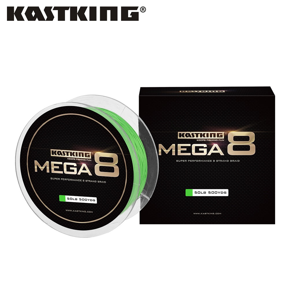 KastKing Mega 8  Super Strong Braided Fishing Line