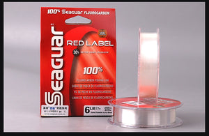 SEAGUAR RED LABEL 100% FLUOROCARBON Fishing Line