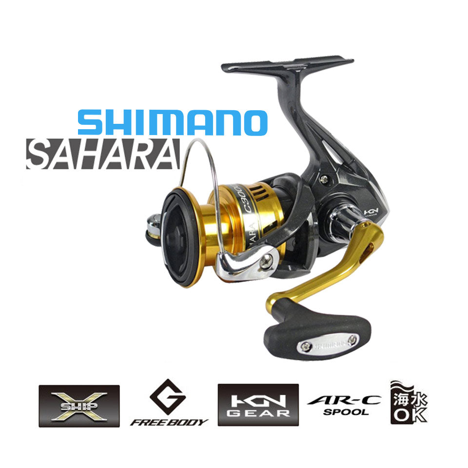 SHIMANO SAHARA FI Spinning Fishing Reel