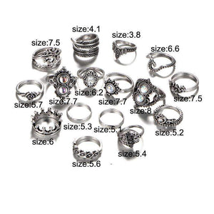 Blessed Heart Ring Set ChakrasActivated