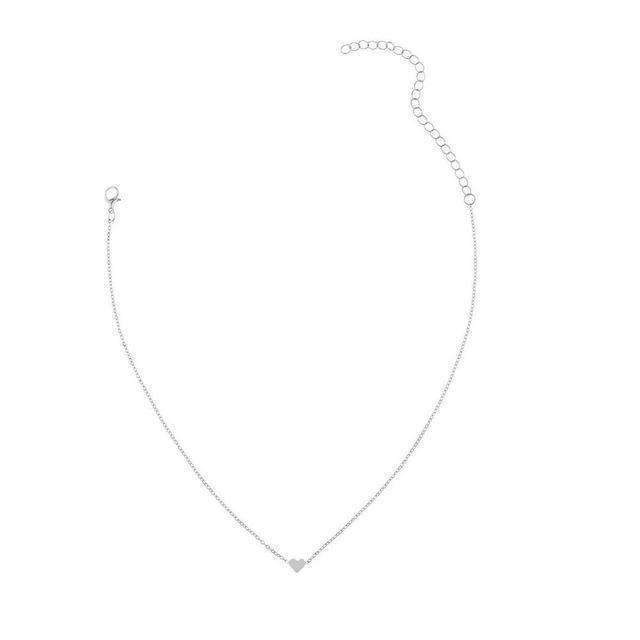 Heart & Soul Choker Necklace ChakrasActivated Silver