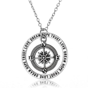 Inner Compass Necklace ChakrasActivated