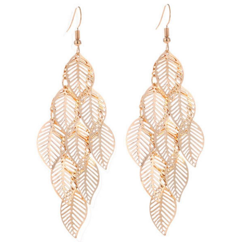 Revive Leaf Earrings ChakrasActivated
