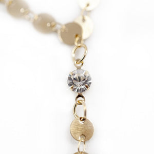 Solar Goddess Lariat Necklace ChakrasActivated