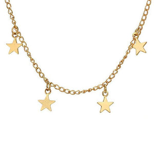 Stargazer Necklace ChakrasActivated Gold