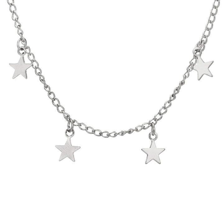 Stargazer Necklace ChakrasActivated Silver