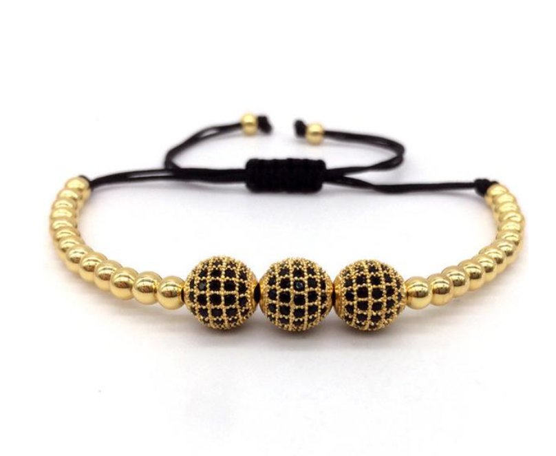 Micro Paved Dark Bracelet