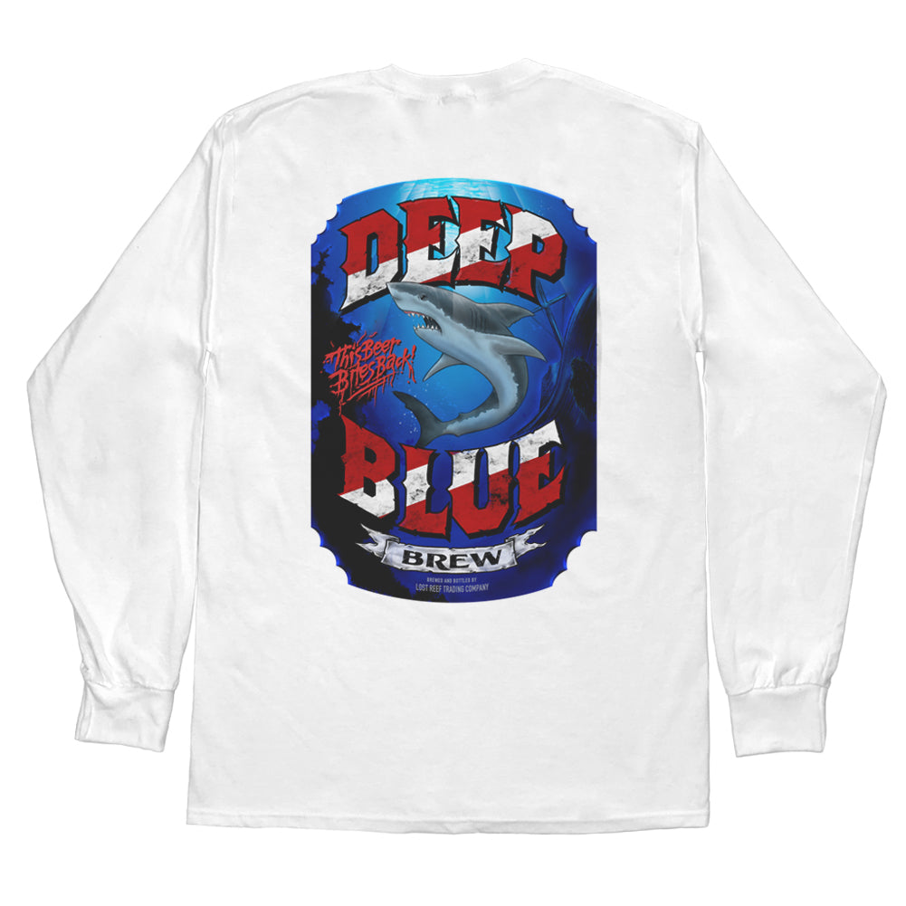 DEEP BLUE BREW LONG SLEEVE