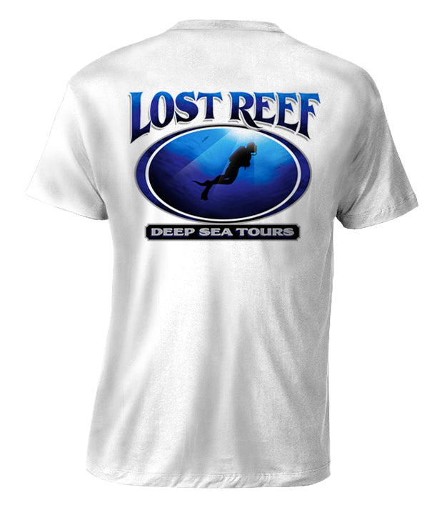 LOST REEF DEEP SEA TOURS T-SHIRT