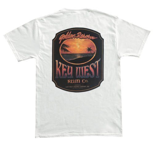 KEY WEST RUM WHITE T-SHIRT