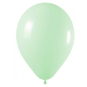 11in Pastel Matte Green Latex Balloons