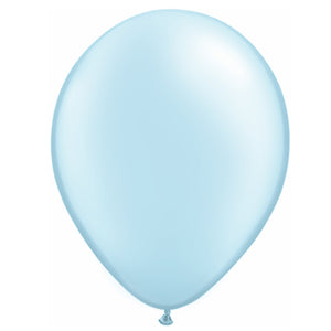 11in Pastel Blue Latex Balloons