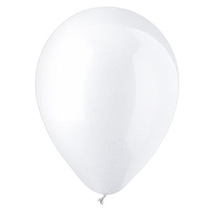 11in White Latex Balloons