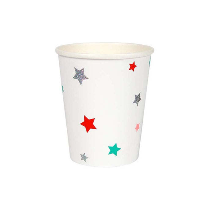 Assorted Color Stars Paper Cups