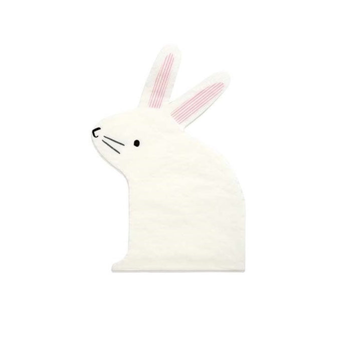 Bunny Large Napkins - 20 Pack
