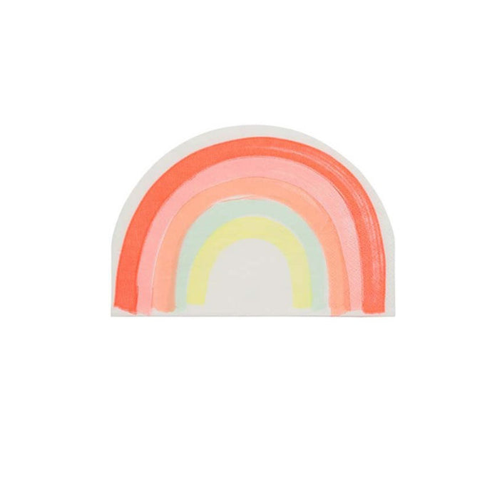 Neon Rainbow Large Napkins