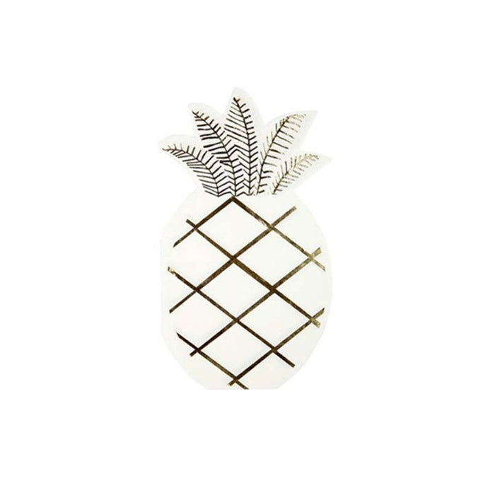 Pineapple Napkins - 16 Pack