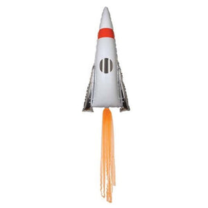 43in Space Rocket Foil Shape Balloon