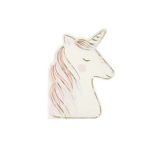 Unicorn Large Paper Napkins - 8 Pack