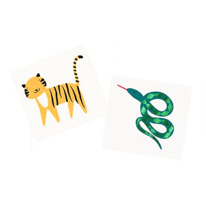 Go Wild Jungle Temporary Tattoos
