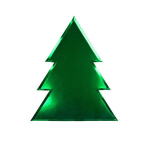 Holiday Tree Large Paper Plates - 8 Pack