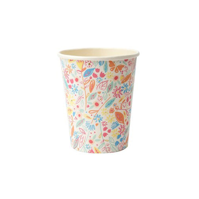Magical Princess Paper Cups - 8 Pack