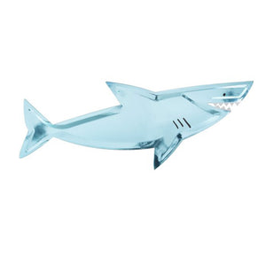 Shark Large Paper Plates - 8 Pack