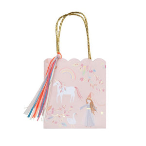 Magical Princess Party Loot Bags - 8 Pack