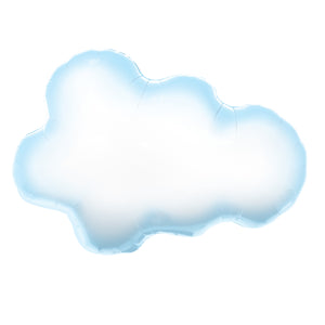 30in Puffy Cloud Foil Shape Balloon