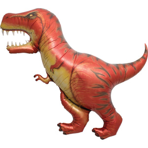 47in T-Rex Foil Shape Balloon
