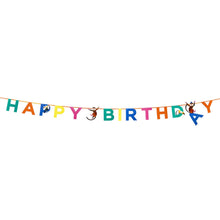 Party Animals HAPPY BIRTHDAY Paper Garland