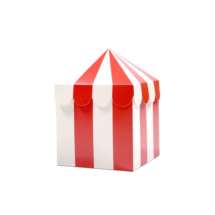 Carnival Tent Favor Boxes - 10 Pack