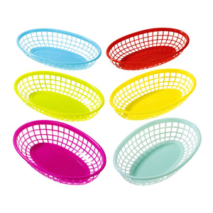 Fiesta Assorted Food Baskets - 6 Pack